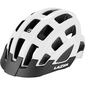 Lazer Compact Kask rowerowy, white
